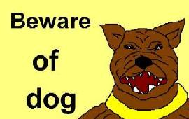 Вслух осторожно злая собака