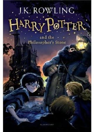 Harry Potter and the Philosopher's Stone, book cover