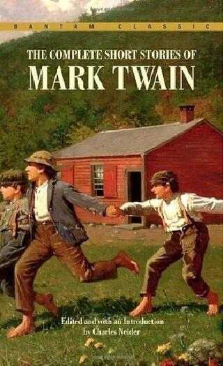 Short Stories by Mark Twain, book cover