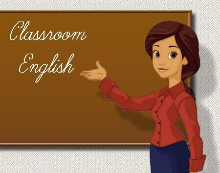 Classroom English