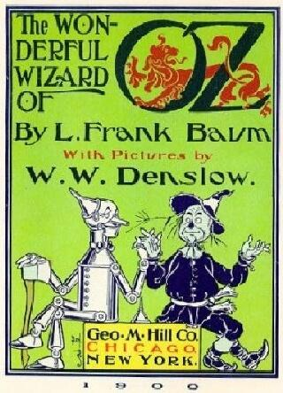 The Wonderful Wizard of Oz, book cover